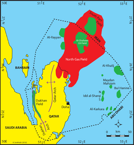 la guerre de syrie  Qatarmap2