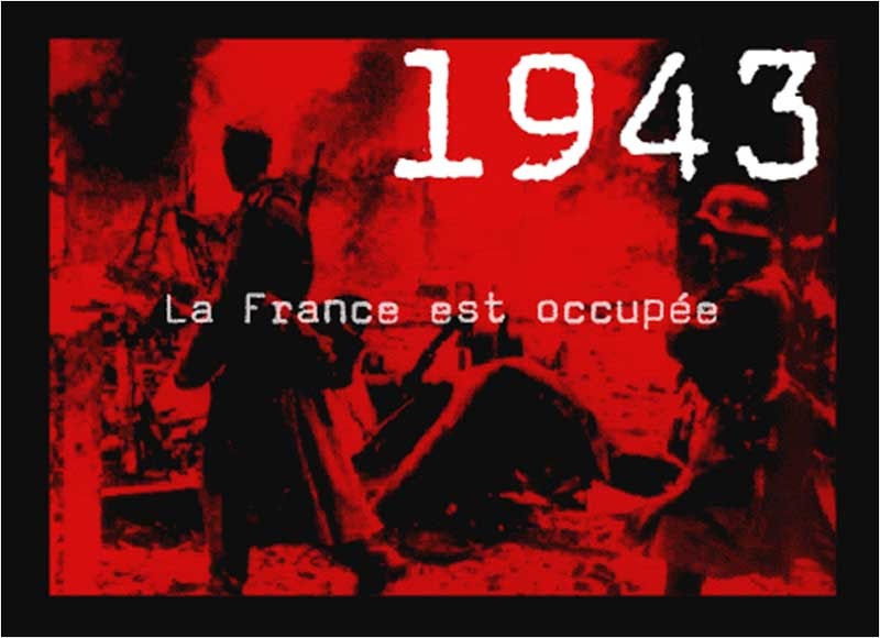 bombe a 1000 messages - Page 2 1943-france-occupee