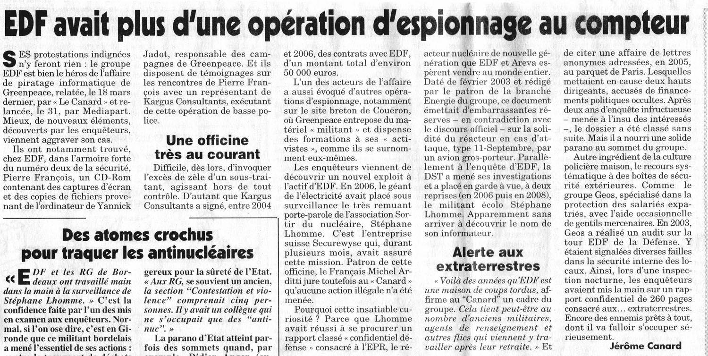 EDF/ERDF et les OVNIs CE1