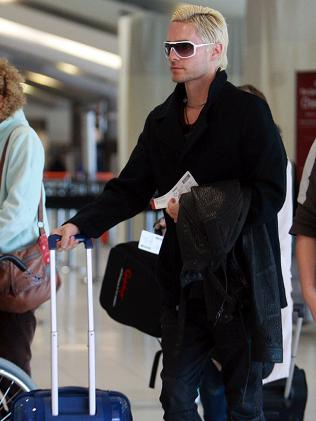 No act as rocker Jared Leto flies into town / ITW daily telegraph 178145-jared-leto