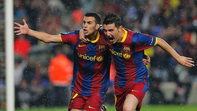 Back to the Season 2010/11 539601-pedro-rodriguez-champions-league
