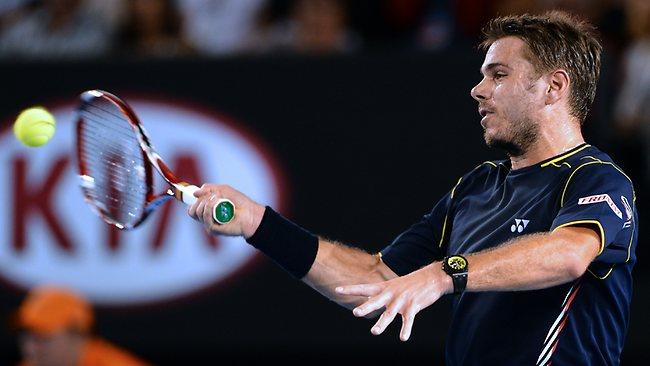 Roland Garros 2013 : certains jouent avec une montre, danger pour le mécanisme ? 776221-stanislas-wawrinka