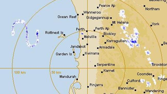 Strange 'S'-shaped radar phenomenon appears off WA coast – Feb 12, 2014 745777-e27e7650-942c-11e3-831f-628faee552fc