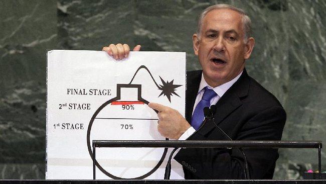Netanyahu....Israel is not bound by this agreement 013698-netanyahu-iran-bomb