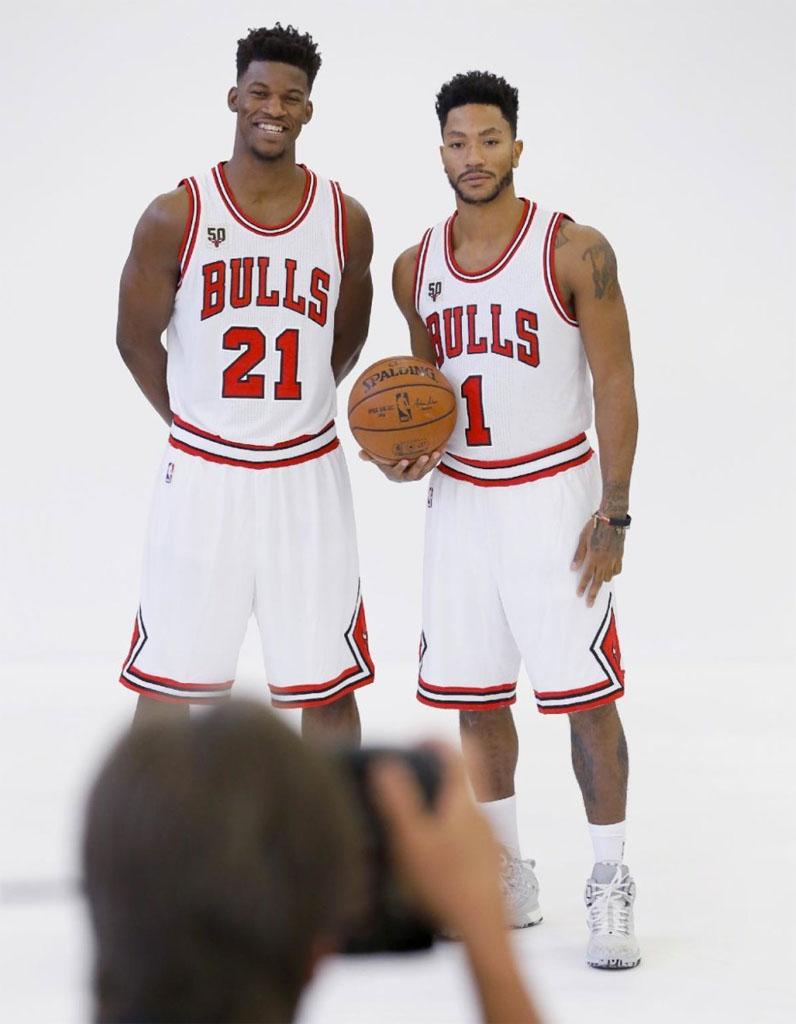 ¿Cuánto mide Derrick Rose? - Altura - Real height Derrick-rose-adidas-d-rose-6-home