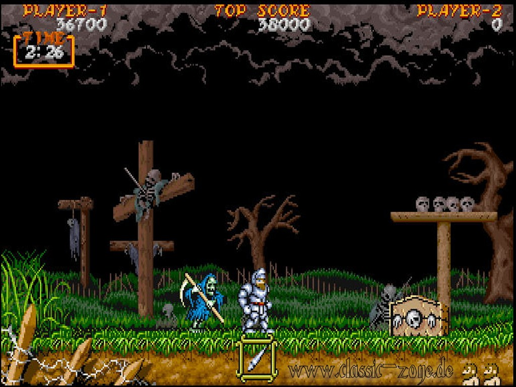 Ghouls And Ghost Classic-zone-wallpaper-super-ghouls-n-ghosts-3