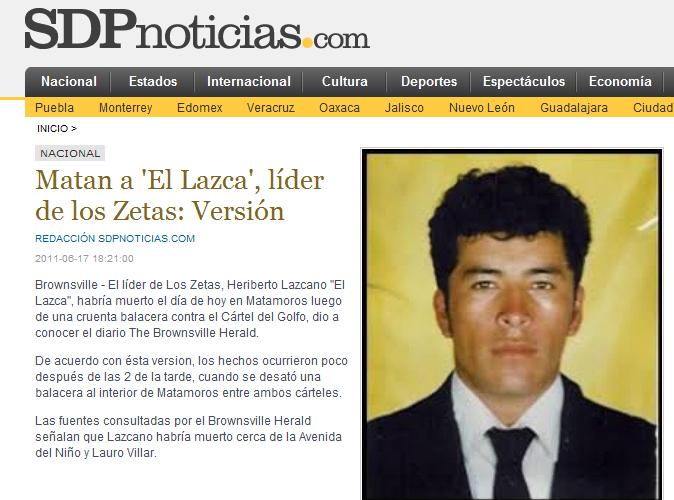 HOY asesinado Heriberto Lazcano 'El Lazca' y un jefe de plaz Image6
