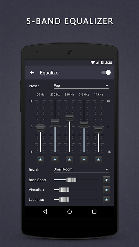 Aplikace Pulsar Music Player S8