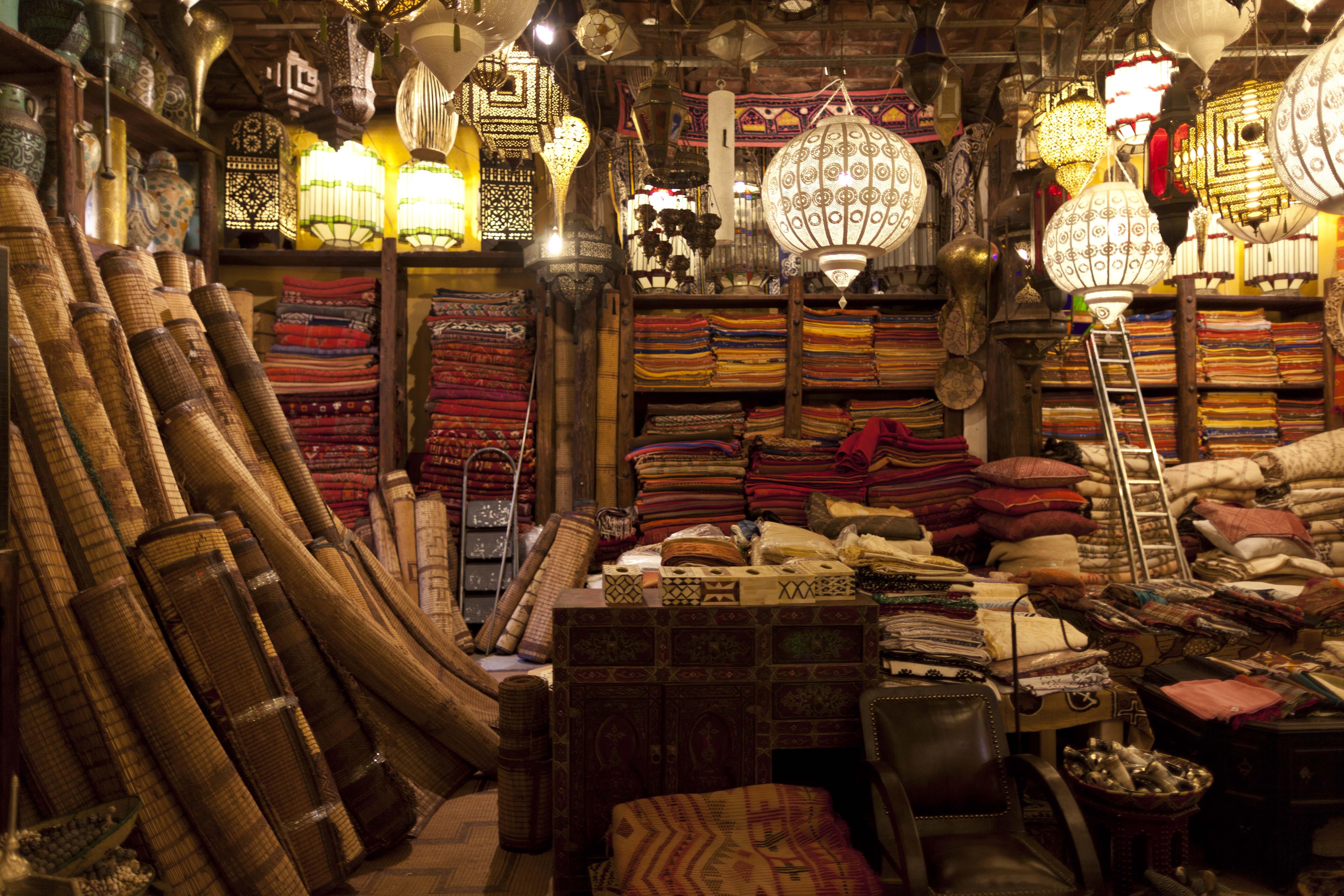Maroko - Page 5 Carpet-store-Marrakech-Morocco