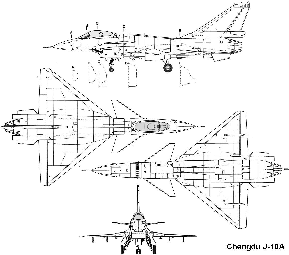 حصرياً للمنتدى-دراسة شاملة عن الرائعة الـصينية J-10 .......... - صفحة 5 Chengdu_j10_3v