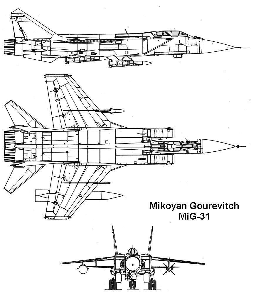 موسوعة اجيال الطائرات المقاتلة واشهر طائرات كل جيل - صفحة 10 Mig31_1_3v