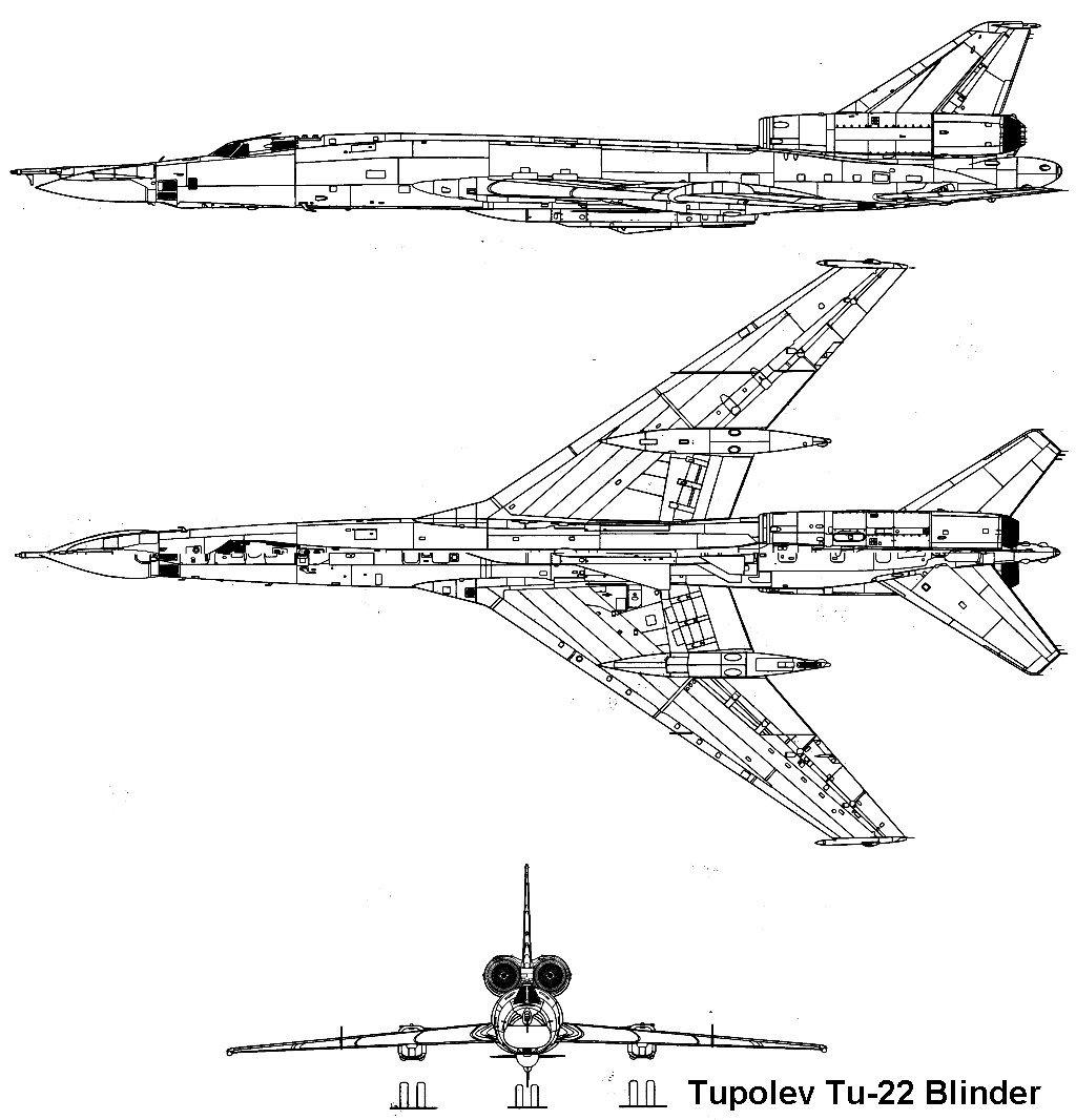 موسوعة القاذفات الاستراتيجية الروسية والامريكية Tu22_1_3v
