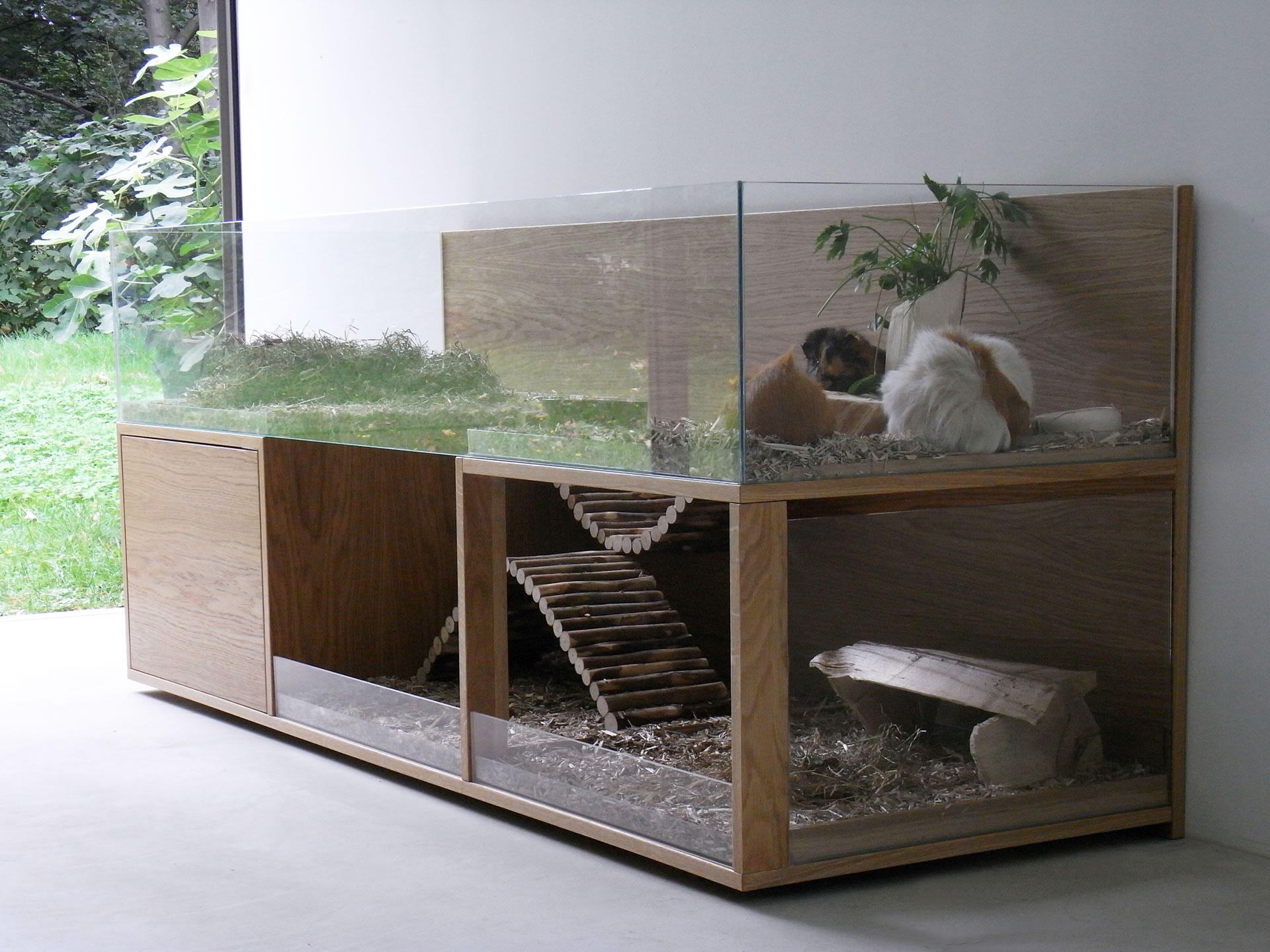 Ideas para jaula (sean super creativos!! espacio y presupuesto ilimitado) Meerschweinchen_maisonette