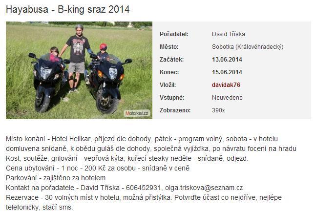 Hayabusa - B-king zraz 2014 Zraz2014
