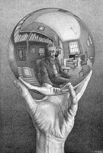 """""""¿Y yo, qué quiero ser de mayor?""""- el sentido de la vida?, la vida es el sentido. Escher"""