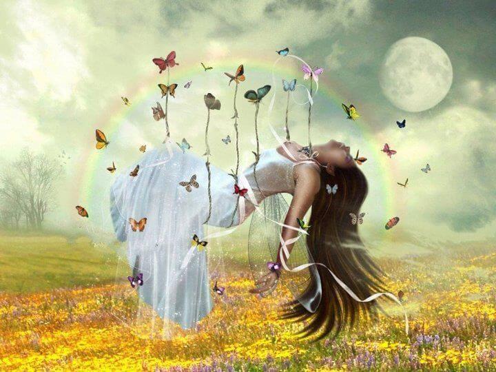 Desnudarse no es quitarse la ropa, es abrir el alma Mujer-espiritual
