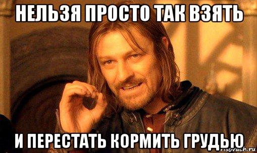 Как перестать кормить грудью? - Страница 5 Nelzya-prosto-tak-vzyat-i-boromir-mem_98802990_orig_