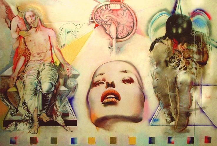 SLIKA 20. VEKA U SLIKARSTVU Olga_Olja_Ivanjicki_-_Oluja_mozgova_1992