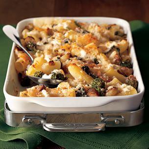 Baked Rigatoni with Sausage & Broccoli Rabe Img34l