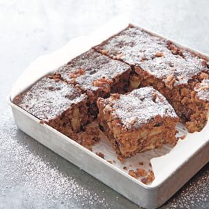 Brandied Apple Cake with Figs and Walnuts Img30l