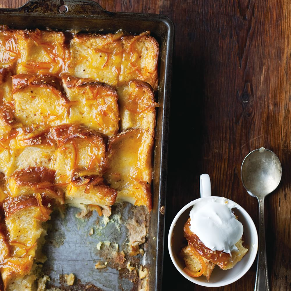 Orange Marmalade Bread and Butter Pudding Img71l