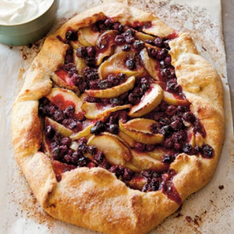 Apple and Cranberry Galette Img31l