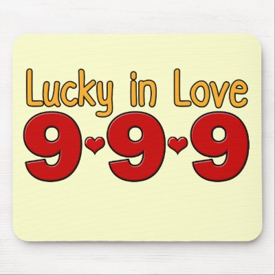 Event Những Con Số 9 9_september_09_lucky_in_love_mousepad-p144855313828710394trak_400
