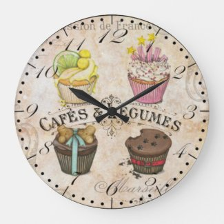 Cafe Style Wall Clock
