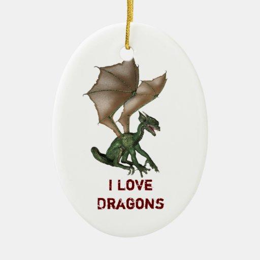 If I were a dragon ... I would look like this .. - Page 3 I_love_dragons_christmas_ornaments-r1374e5cc7e3e477ea8cb4a83d37636b2_x7s2o_8byvr_512