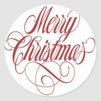 Merry Christmas Merry_christmas_gift_tag_custom_round_stickers-p217764905621574349eng30_325