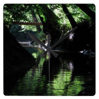 MusicRVA Zazzle Shore Pamunkey_river_richmond_virginia_clock-refbc853354b44022b110fccefeb88270_fup1y_8byvr_325