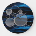 Space Time Universe Series Wall Clock