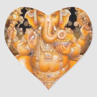 Corazones con corazón. Dios_hindu_de_ganesh_pegatina-rdc613e671f3a42babfcea606ea7443c8_v9w0n_8byvr_324