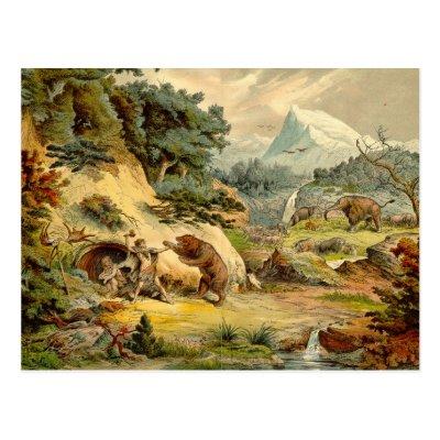 l'image de l'homme préhistorique - Page 3 Copie_prehistorique_dantiquite_de_scene_carte_postale-p239262227583839042envli_400