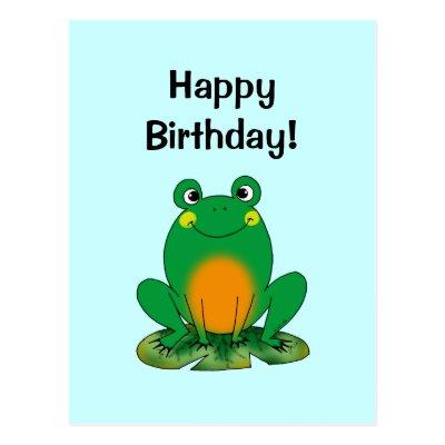 Joyeux anniversaire franck9133 !  - Page 2 Joyeux_anniversaire_grenouille_carte_postale-p239488973958706937baanr_400