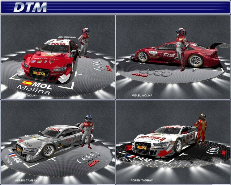 DTM THE GAME by RMGS-TEAM will be released 20.10.2013 Dtm_2013_the_game_by_rmgs-team_team_audi_sport_01