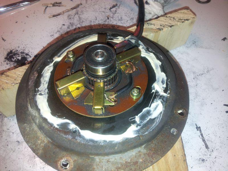 Vibrations ventilateur de refroidissement turbo Ventilateur13