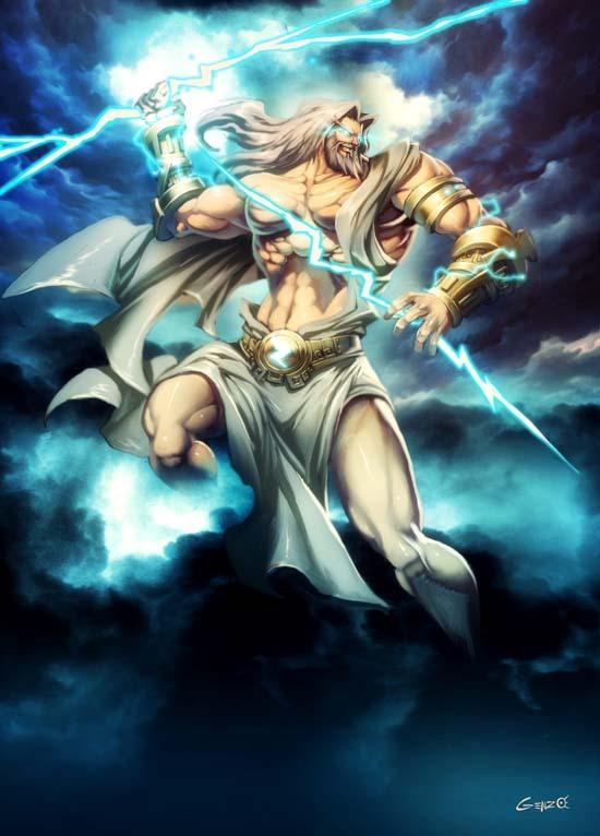 """Mitología Griega!""""(dioses principales) Zeusbygenzo"""