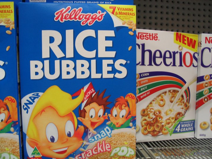 FAVORITE CEREALS? (you can have more than one) Australia_rice_bubbles