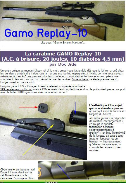 carabine Gamo IGT a brisure de canon et BARILLET 10 DIABOLOS 4,5 Photo417