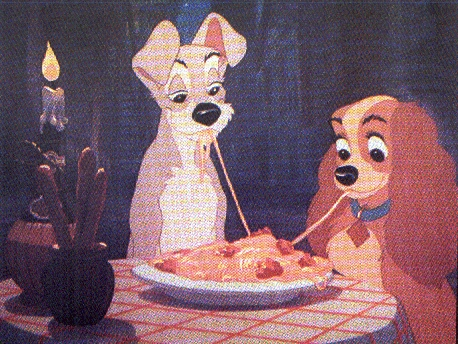 Crtani film Romantic-dinner