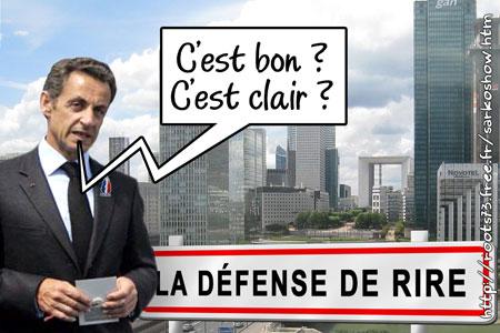 Jean Sarkozy futur président de l'Etablissement public d'aménagement La Défense - Page 2 DefDeRire