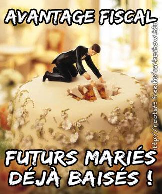 Rigueur, austérité : d'abord, suppression de la 1/2 part supplémentaire FutursMaries