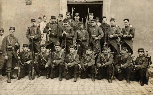 La conscription de masse Latroupe