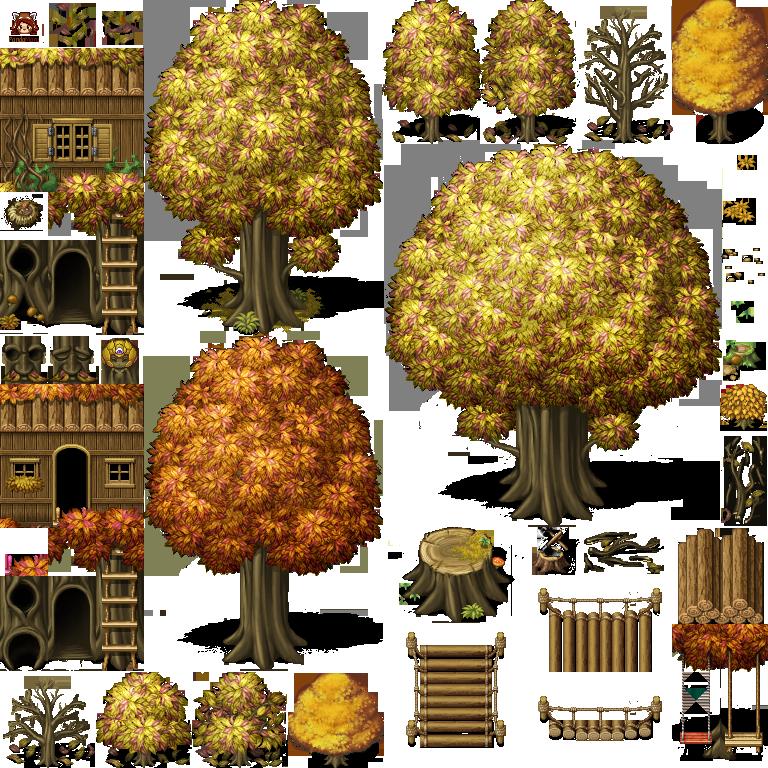 Recursos gráficos (Tilesets) PandaMaru_MV_nature2