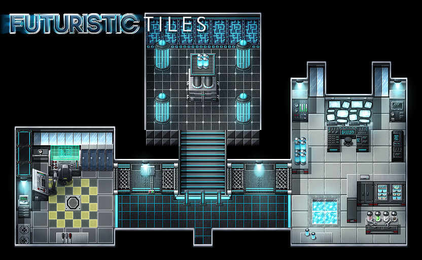 Pack Futuristic Tiles Vx et Vx Ace Futuristic-map-1