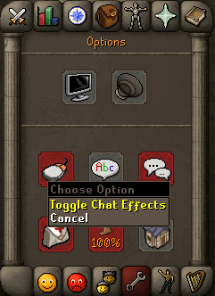 Chat Effects Toggle