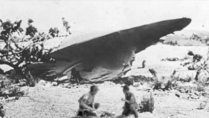 The Roswell UFO Incident UFO-Roswell-NM2