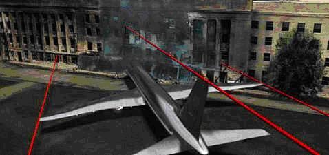 pierre - 11 Septembre : le documentaire des architectes fait un carton à la télévision Pentagone_avion