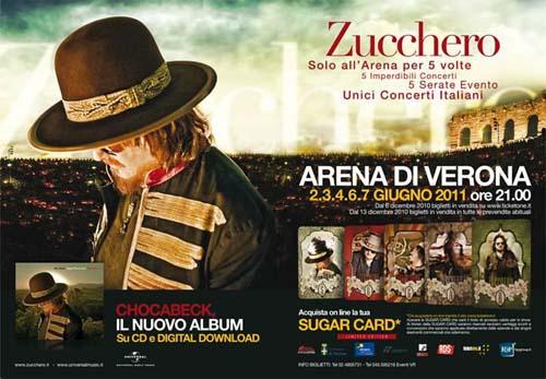 ZUCCHERO - TOUR E DATE CONCERTI Zucchero-Chocabeck-tour-2011